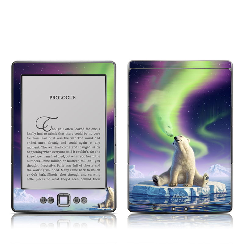 Arctic Kiss Amazon Kindle 4 Skin