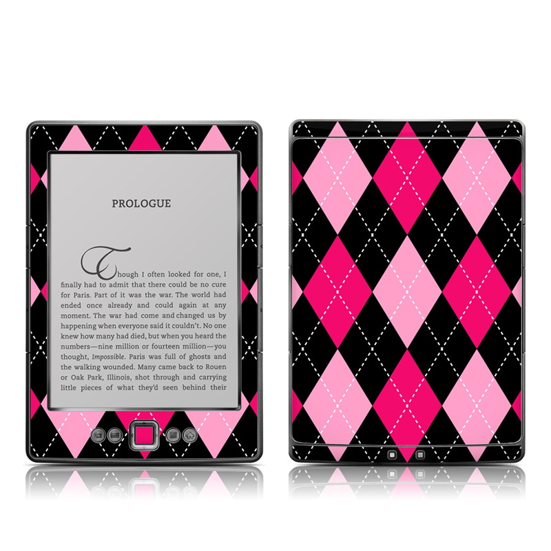 Argyle Style Amazon Kindle 4 Skin