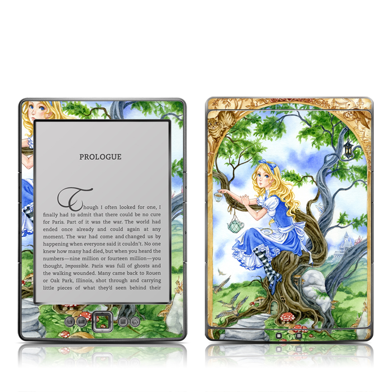 Alice's Tea Time Amazon Kindle 4 Skin