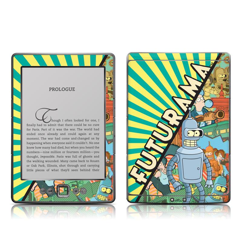 Bender Amazon Kindle 4 Skin