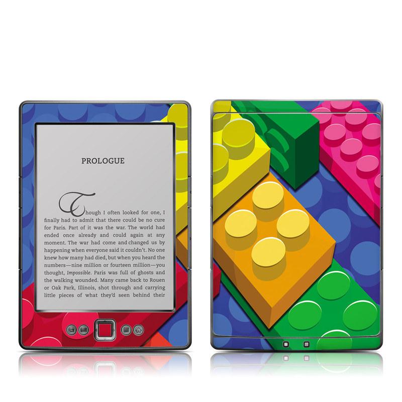 Bricks Amazon Kindle 4 Skin