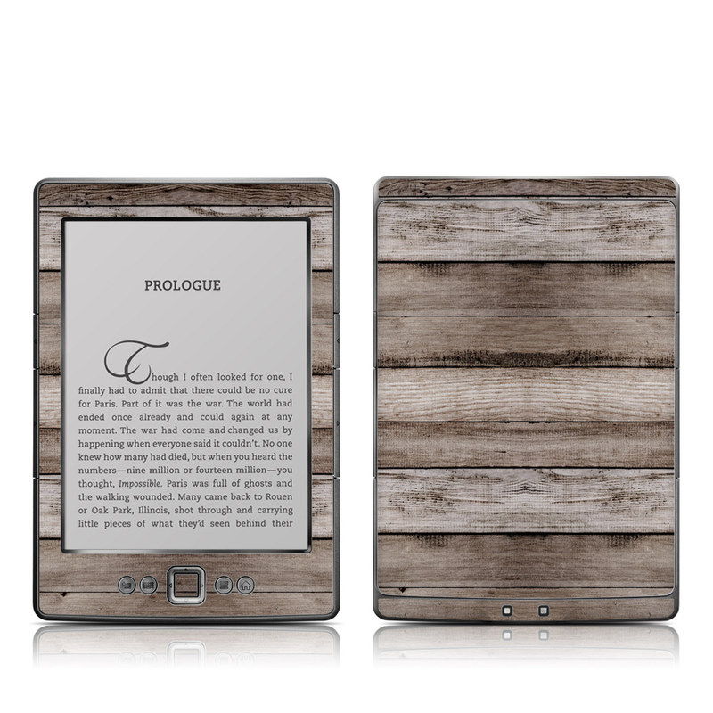 Barn Wood Amazon Kindle 4 Skin