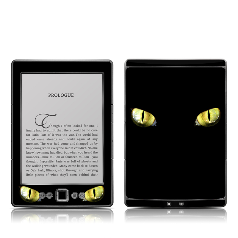 Cat Eyes Amazon Kindle 4 Skin