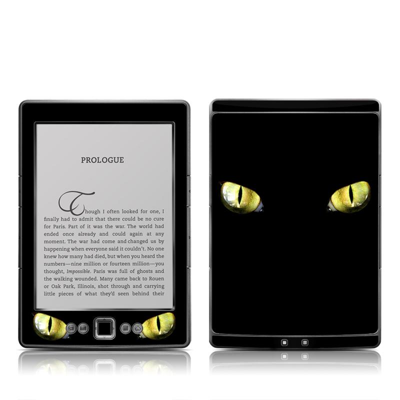 Cat Eyes Amazon Kindle 4 Skin