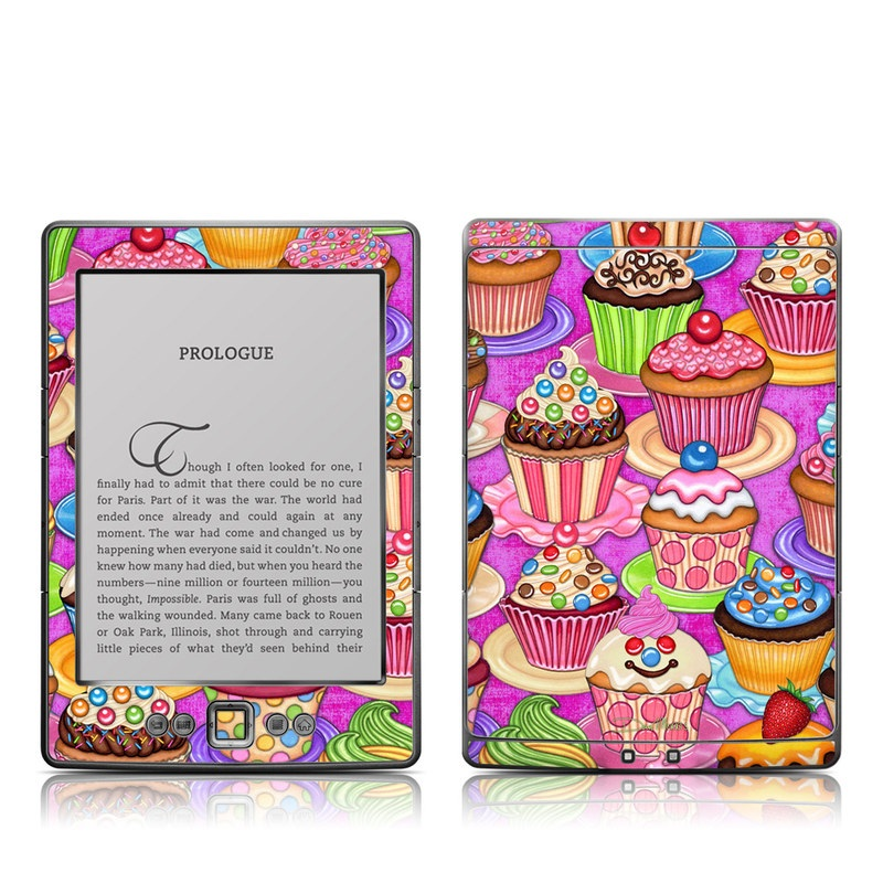 Cupcake Amazon Kindle 4 Skin