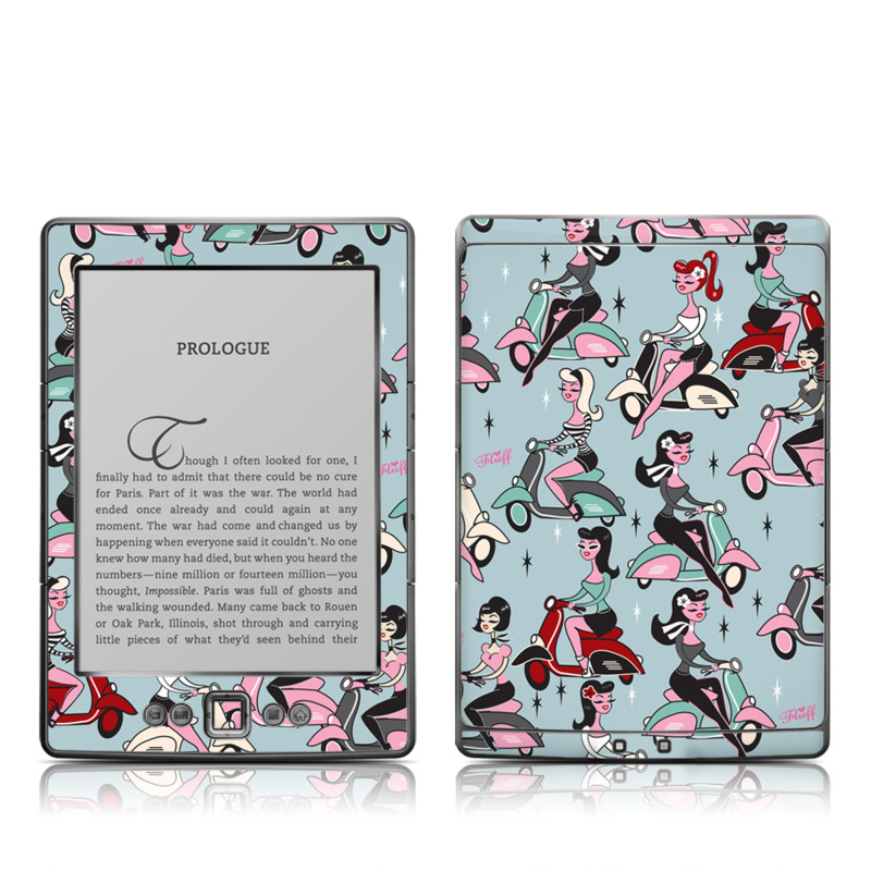 Ciao Fluff Amazon Kindle 4 Skin