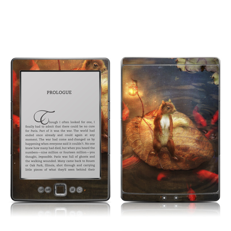 Columbus Amazon Kindle 4 Skin