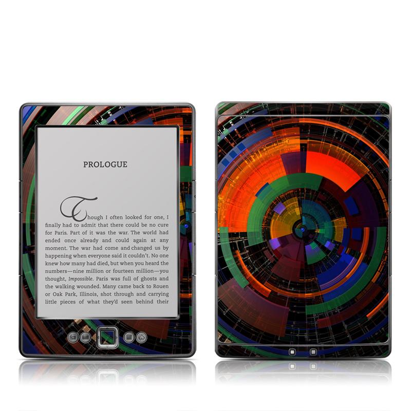 Color Wheel Amazon Kindle 4 Skin