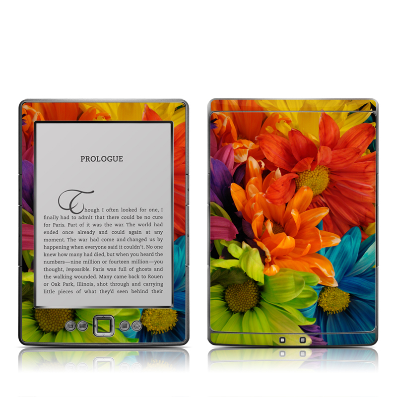 Colours Amazon Kindle 4 Skin
