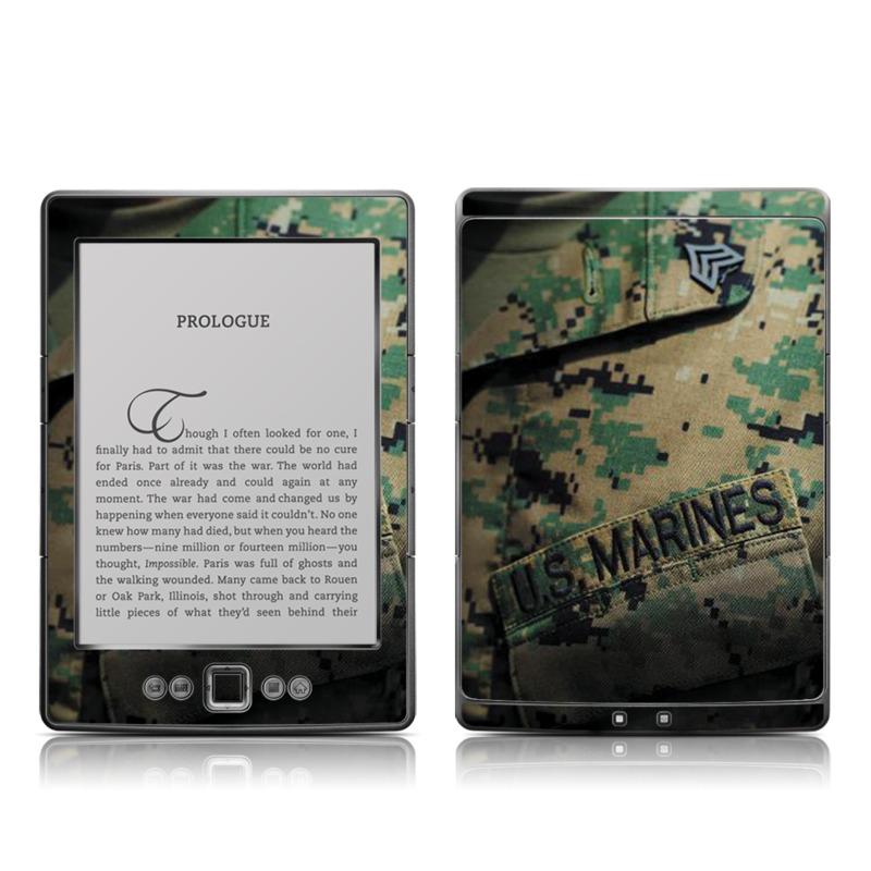 Courage Amazon Kindle 4 Skin