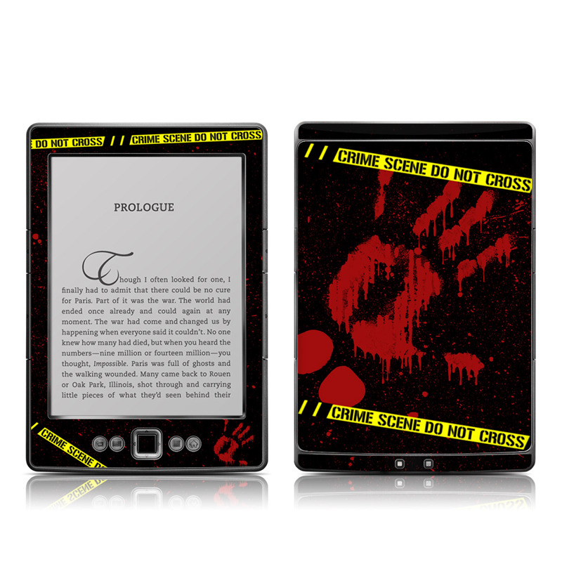 Crime Scene Amazon Kindle 4 Skin