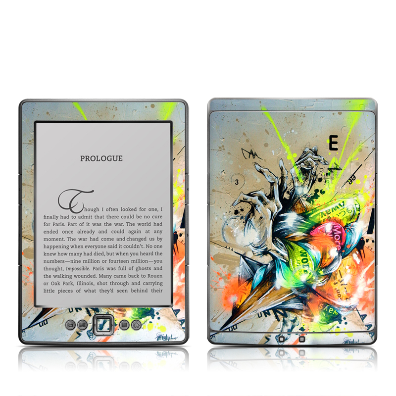 Dance Amazon Kindle 4 Skin