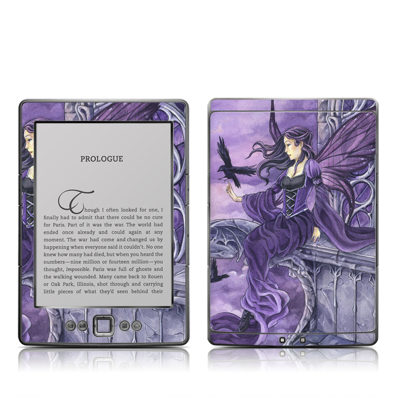 Dark Wings Amazon Kindle 4 Skin