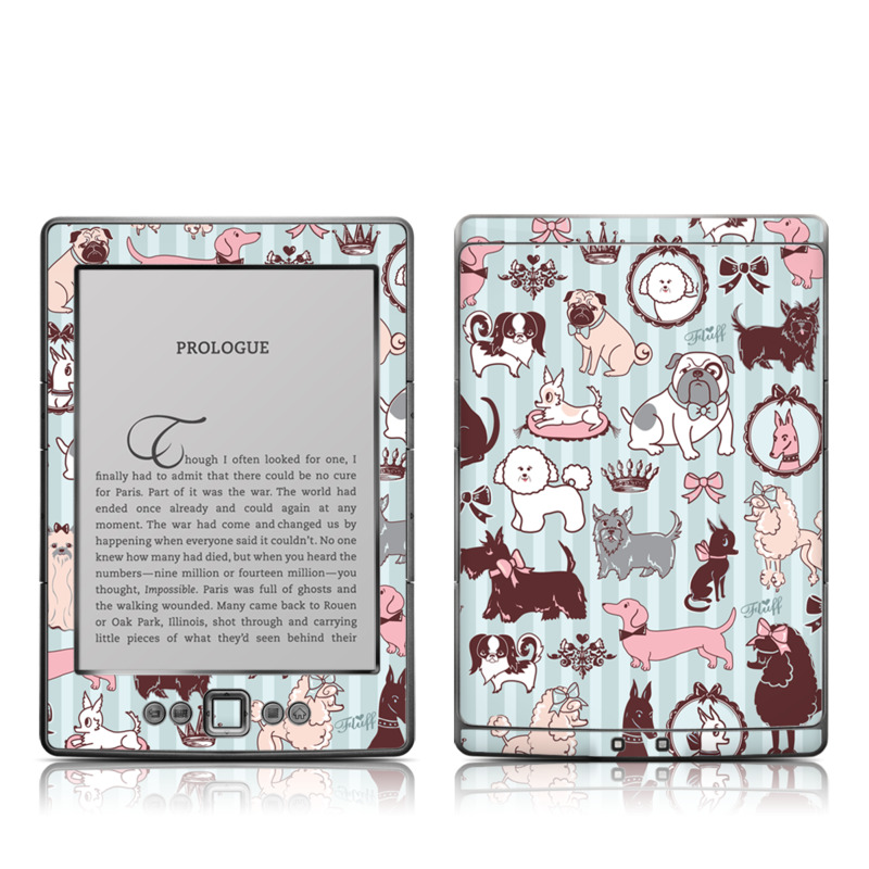 Doggy Boudoir Amazon Kindle 4 Skin