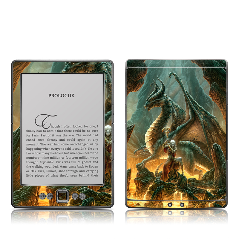 Dragon Mage Amazon Kindle 4 Skin