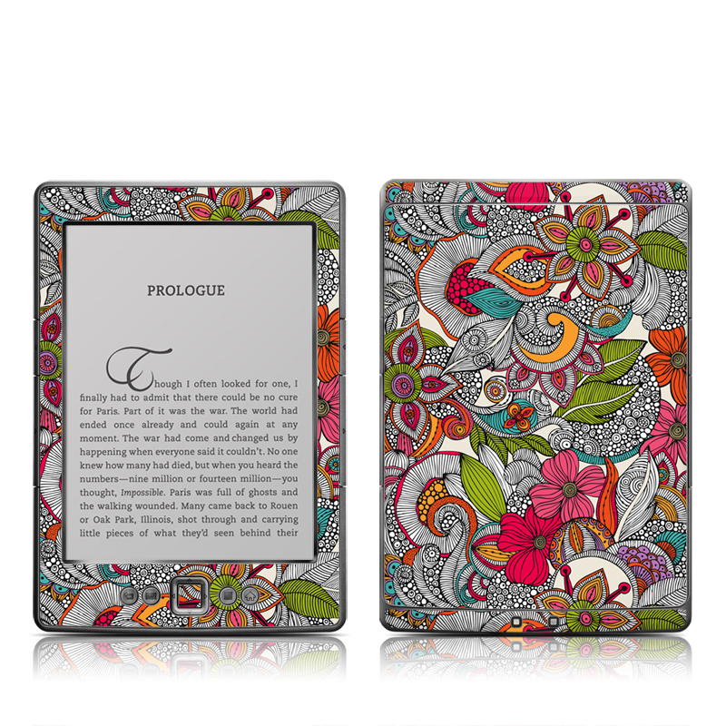 Doodles Color Amazon Kindle 4 Skin