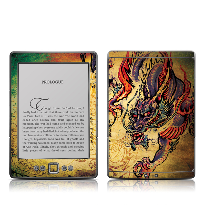 Dragon Legend Amazon Kindle 4 Skin