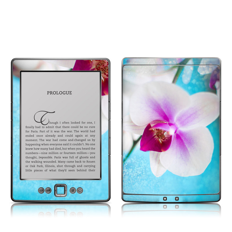 Eva's Flower Amazon Kindle 4 Skin
