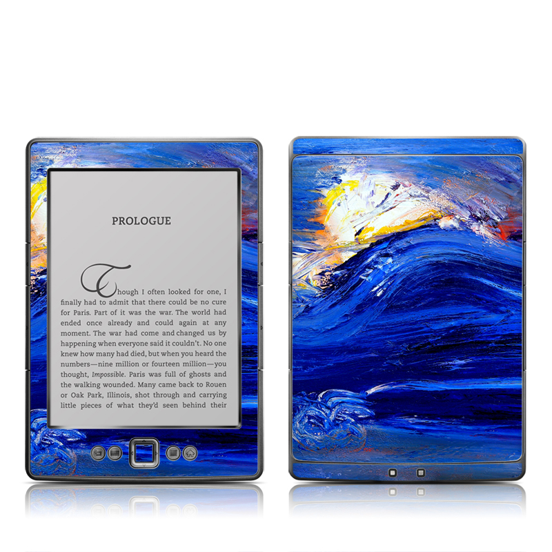 Feeling Blue Amazon Kindle 4 Skin