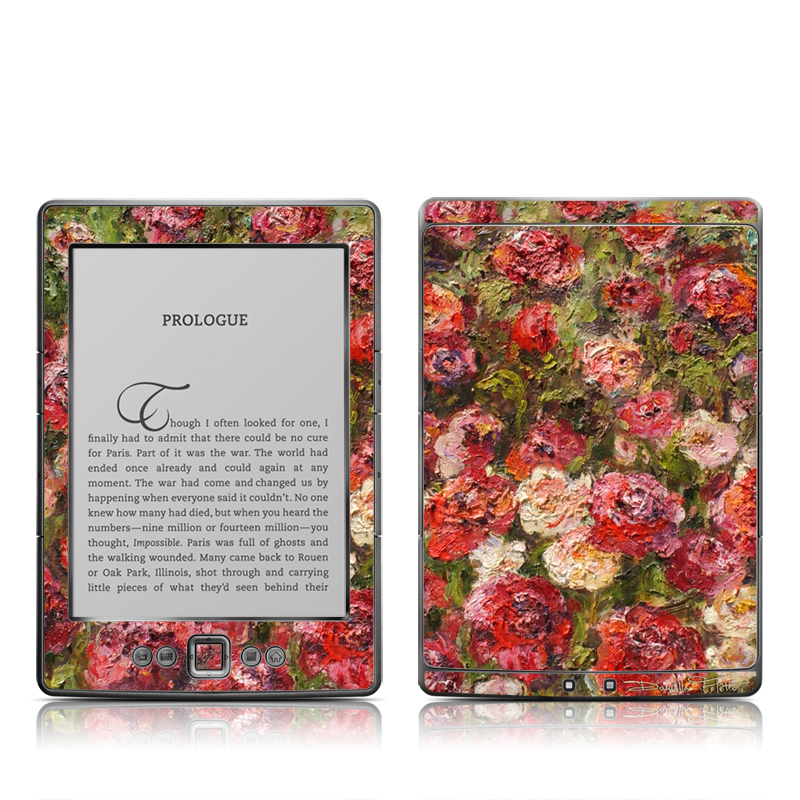Fleurs Sauvages Amazon Kindle 4 Skin