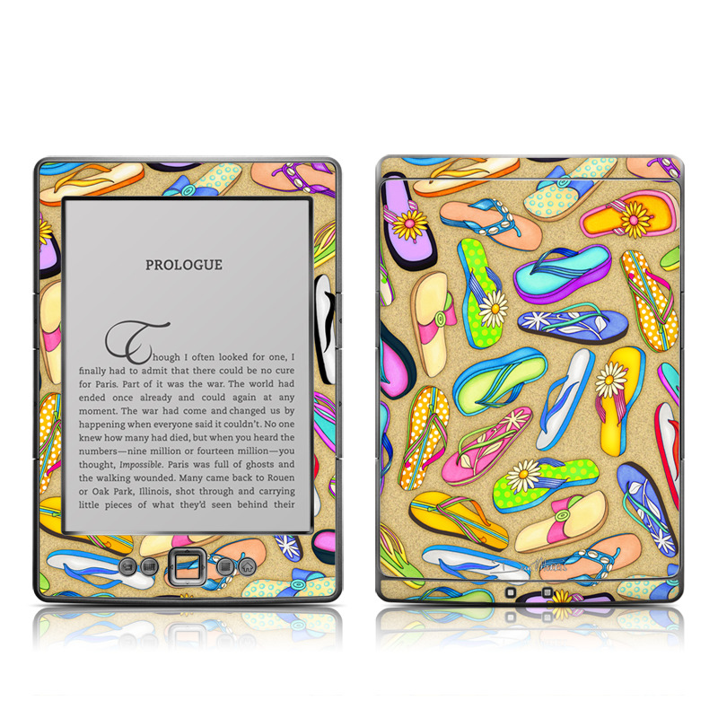 Flip Flops Amazon Kindle 4 Skin