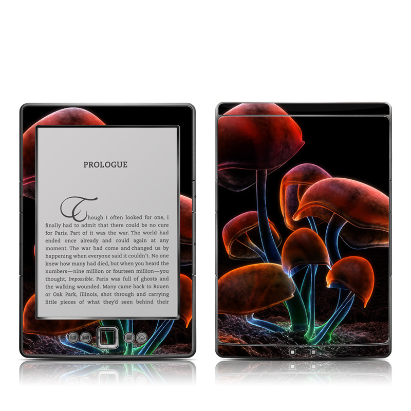 Fluorescence Rainbow Amazon Kindle 4 Skin