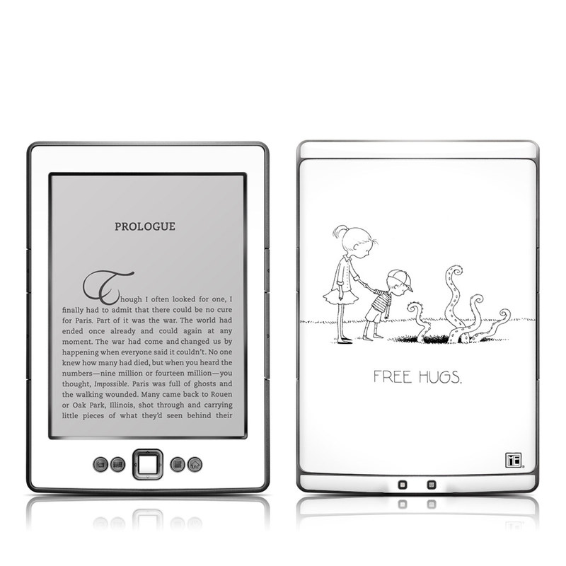 Amazon Kindle 4th Gen Skin design of Line art, Cartoon, Text, Drawing, Illustration, Coloring book, Black-and-white, Child, Art with black, white colors