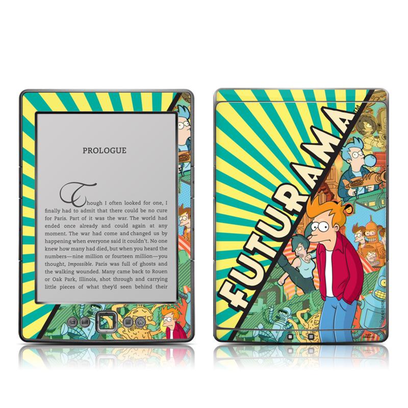 Fry Amazon Kindle 4 Skin