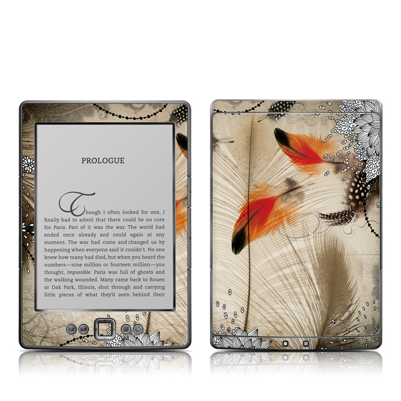 Feather Dance Amazon Kindle 4 Skin