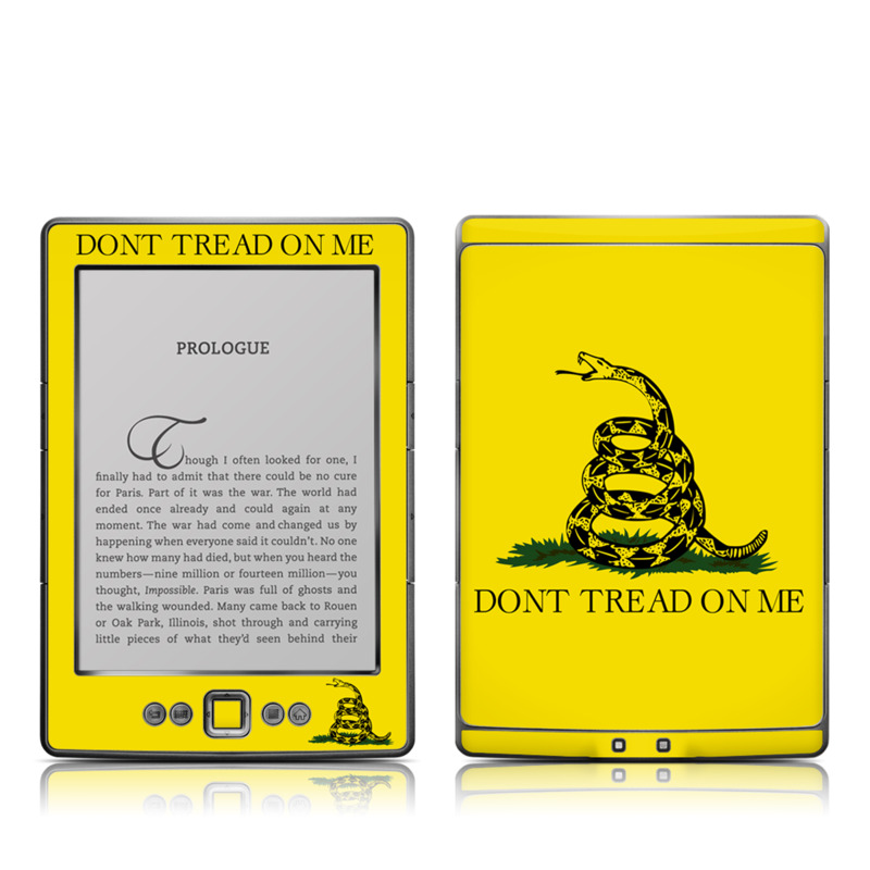Gadsden Flag Amazon Kindle 4 Skin