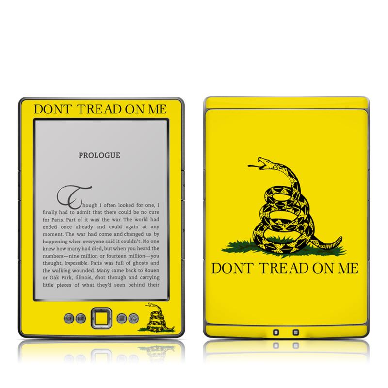 Gadsden Flag Amazon Kindle 4 Skin