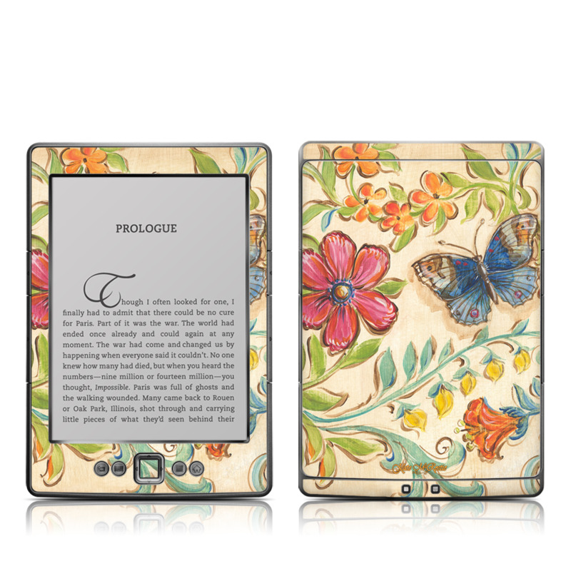 Garden Scroll Amazon Kindle 4 Skin