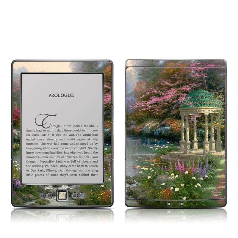 Garden Of Prayer Amazon Kindle 4 Skin