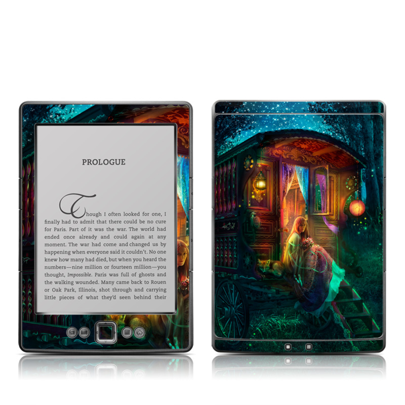 Gypsy Firefly Amazon Kindle 4 Skin