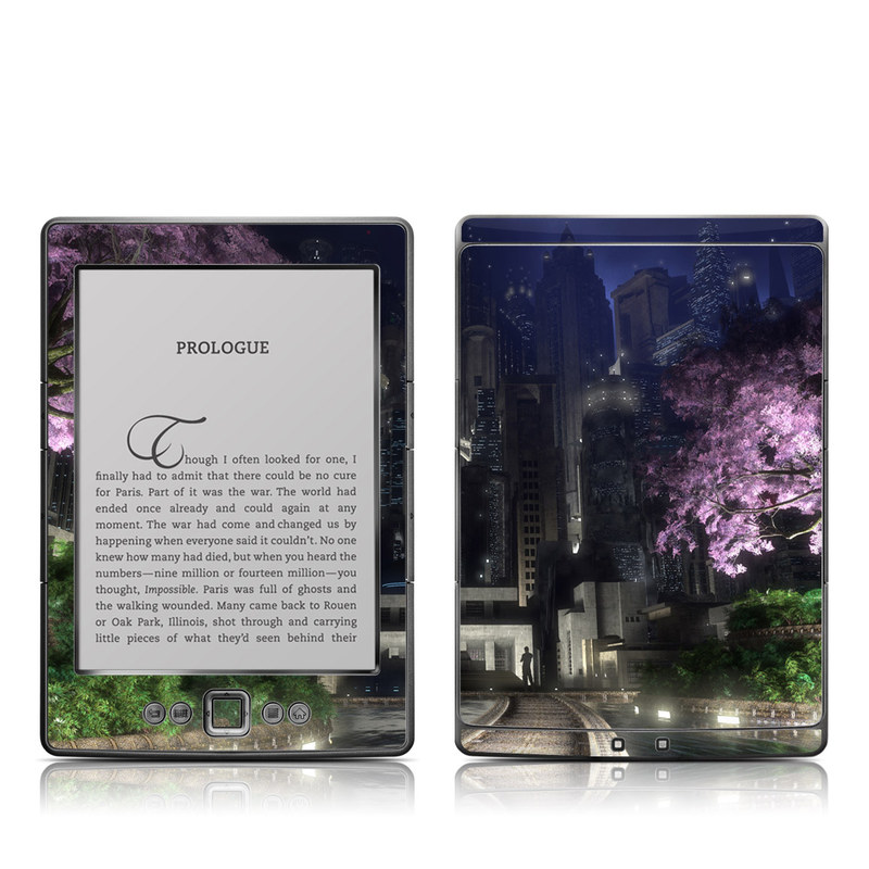 Gotham Garden Amazon Kindle 4 Skin