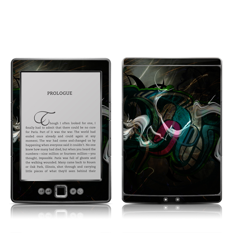 Graffsctract Amazon Kindle 4 Skin