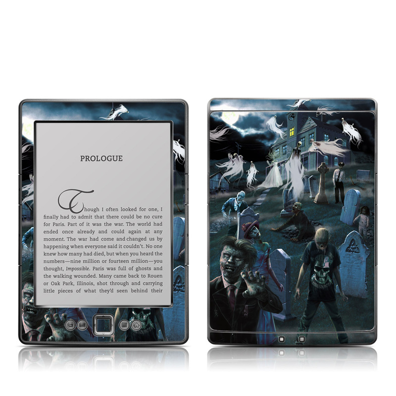 Graveyard Amazon Kindle 4 Skin