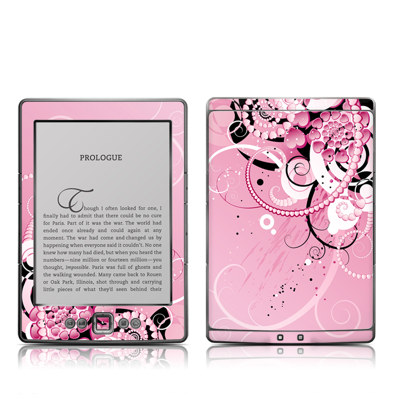 Her Abstraction Amazon Kindle 4 Skin
