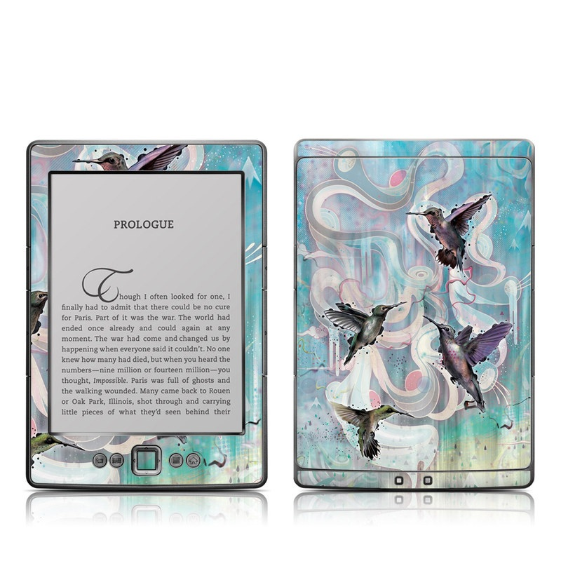 Hummingbirds Amazon Kindle 4 Skin