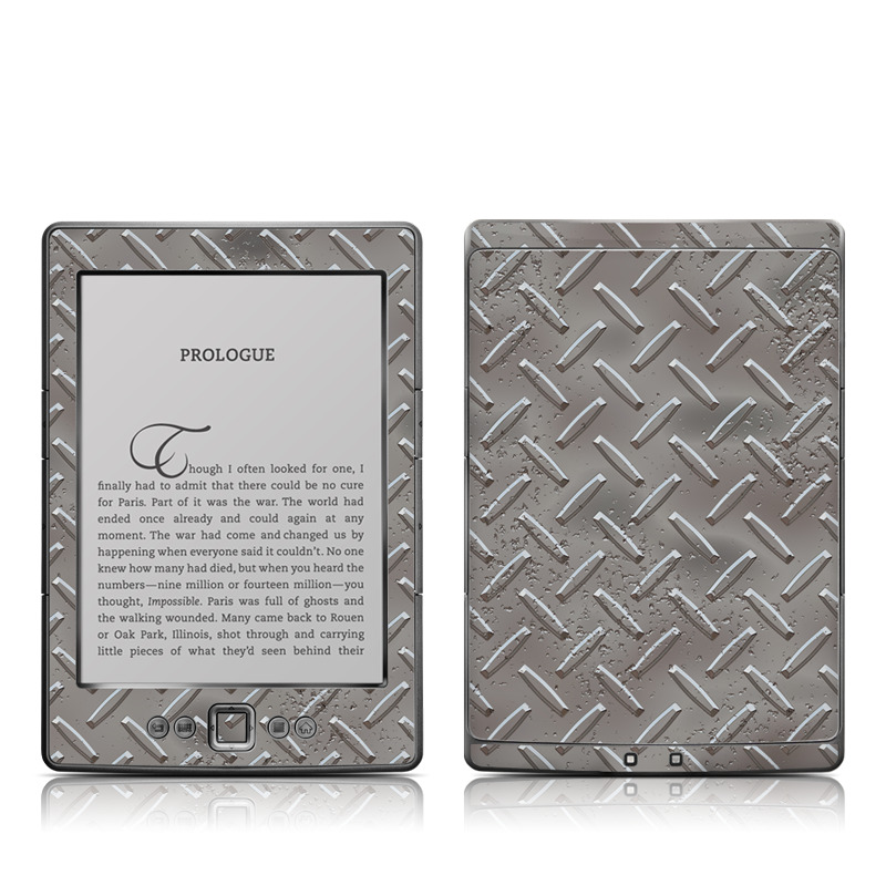 Industrial Amazon Kindle 4 Skin