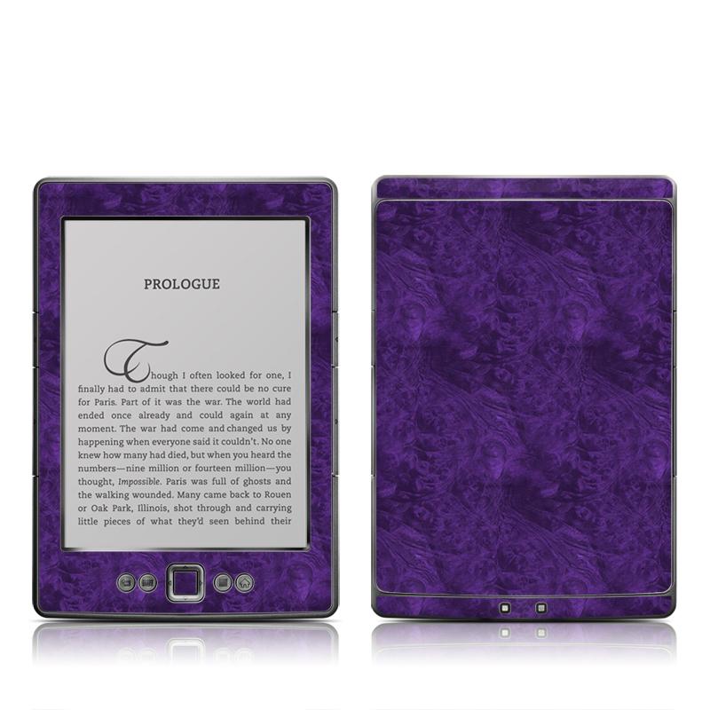 Purple Lacquer Amazon Kindle 4 Skin