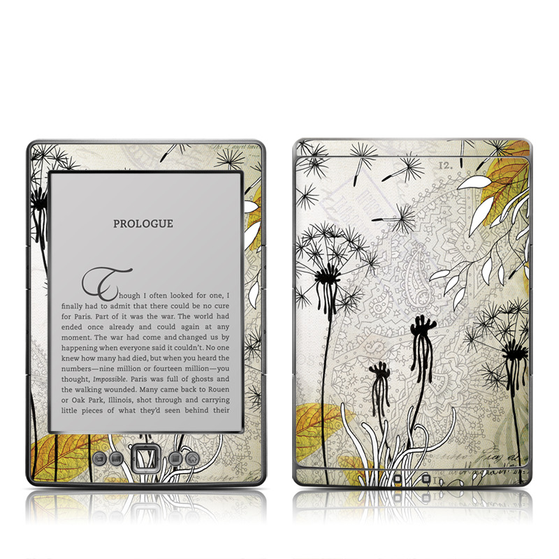 Little Dandelion Amazon Kindle 4 Skin