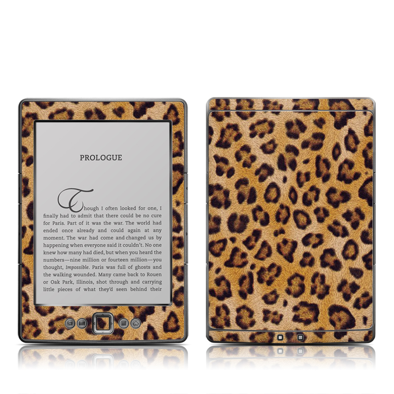 Leopard Spots Amazon Kindle 4 Skin