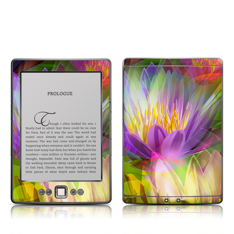Lily Amazon Kindle 4 Skin