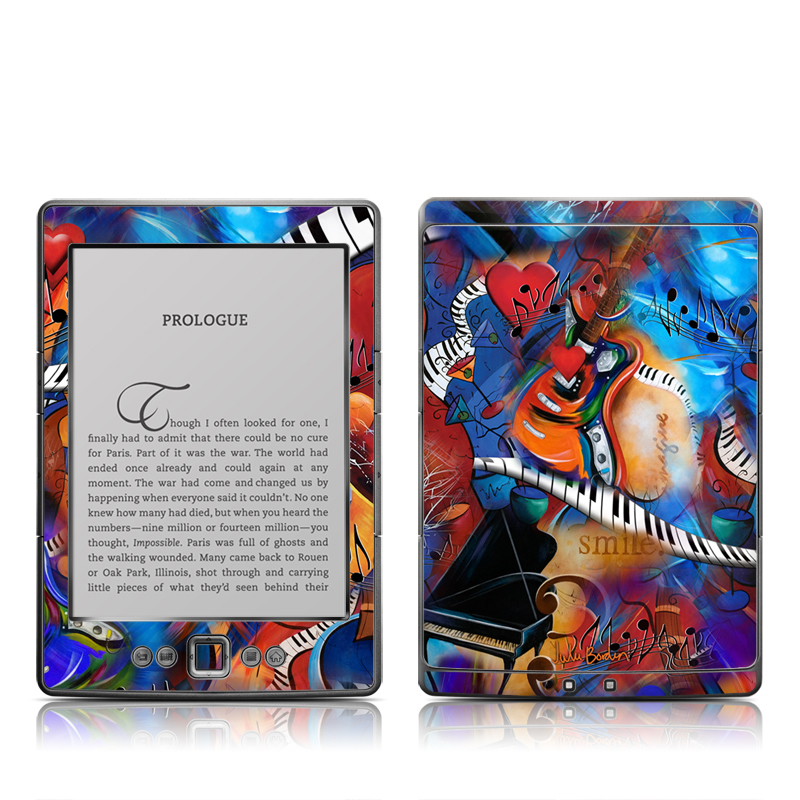 Music Madness Amazon Kindle 4 Skin