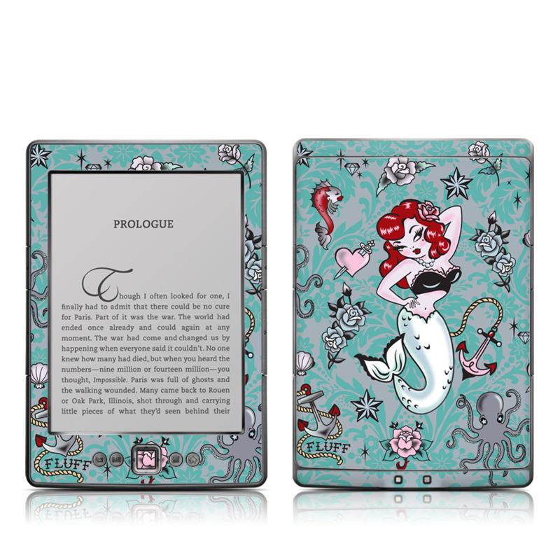 Molly Mermaid Amazon Kindle 4 Skin