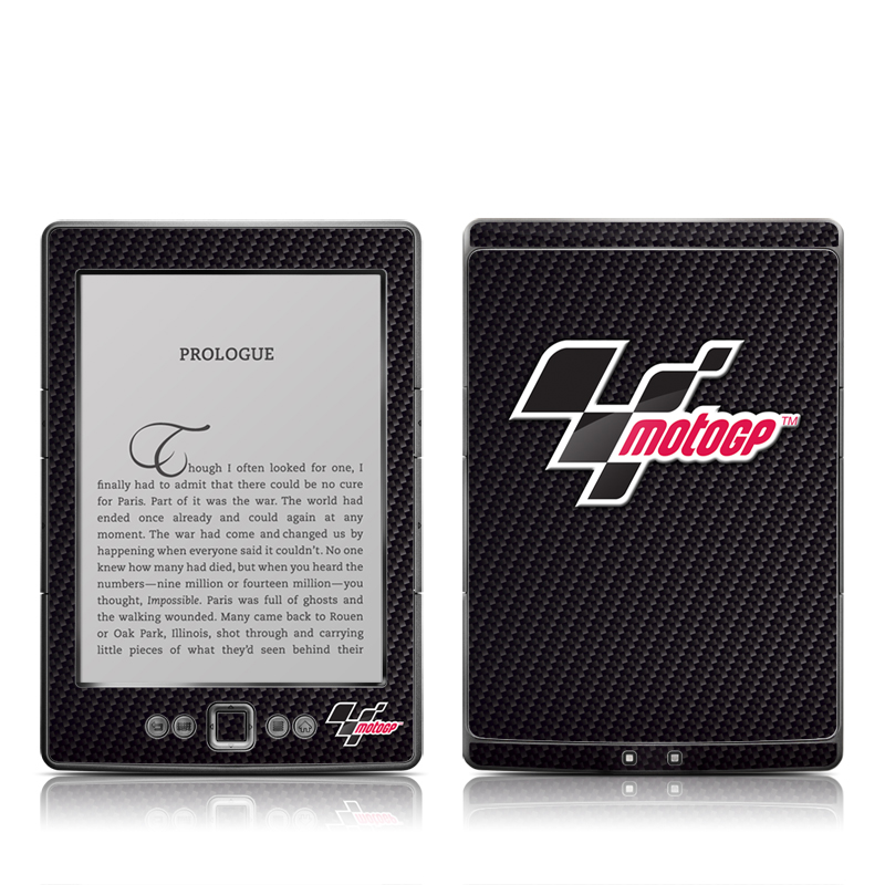 MotoGP Carbon Fiber Logo Amazon Kindle 4 Skin