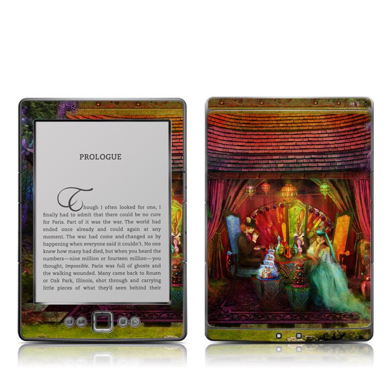 A Mad Tea Party Amazon Kindle 4 Skin