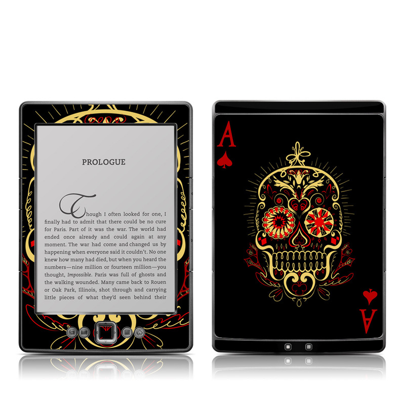 Muerte Amazon Kindle 4 Skin