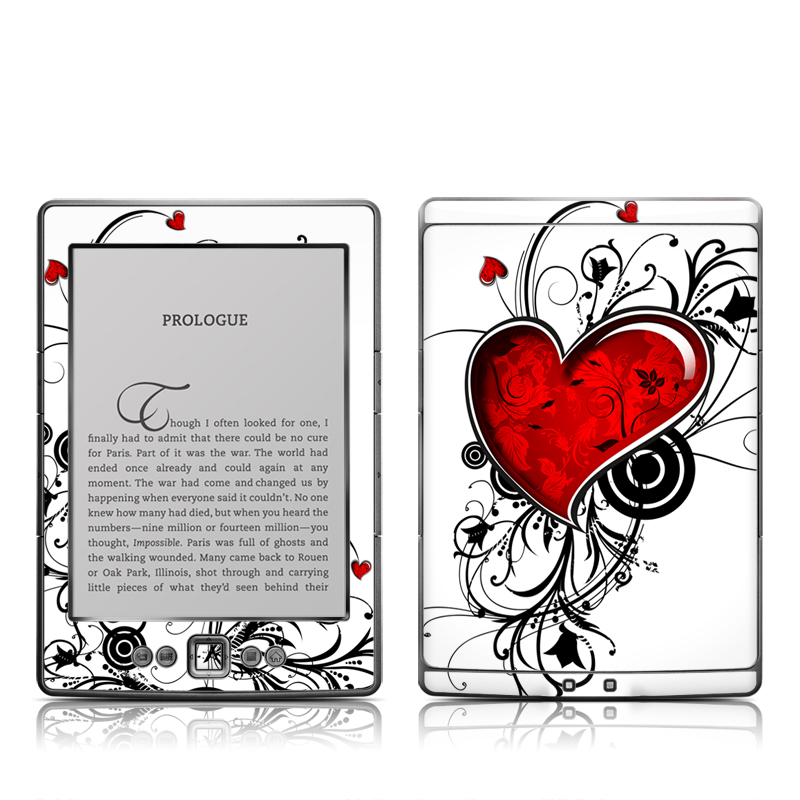 My Heart Amazon Kindle 4 Skin